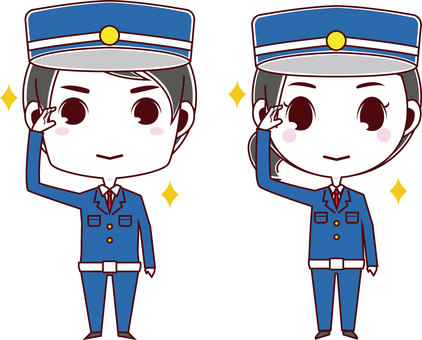 Guardman / Security Guard_Male and Female03