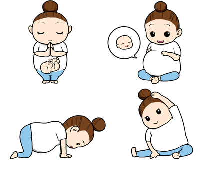 Maternity Yoga (color)