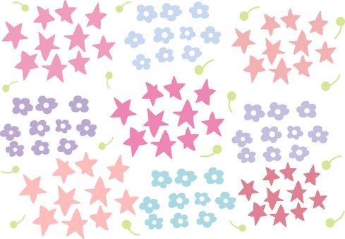 Star & flower