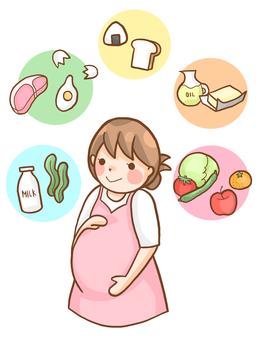 Pregnant women's diet