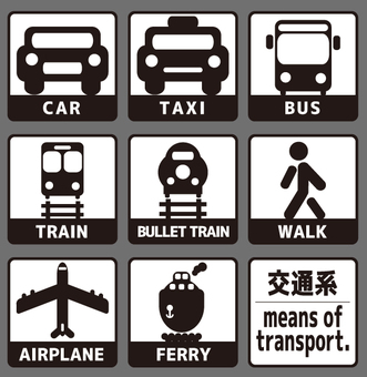 Icon-Transportation-Set 1