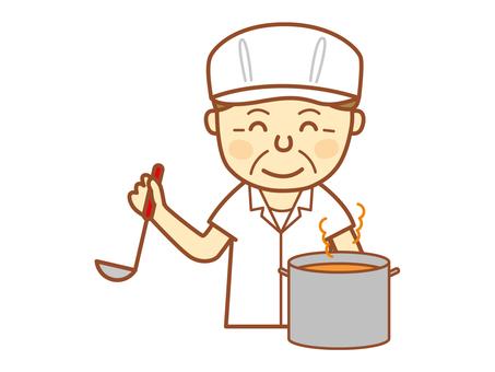 Cooking person (Senior - 7)