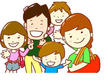 chacha Family Family 6 Travel Shopping