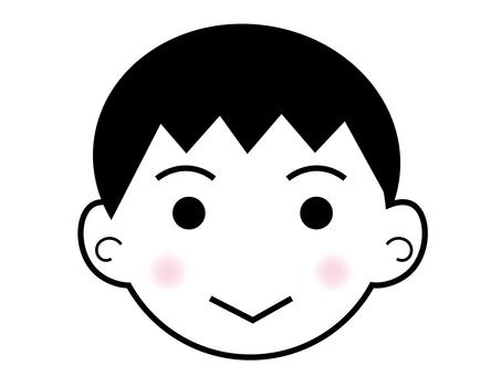 Boy's face 1
