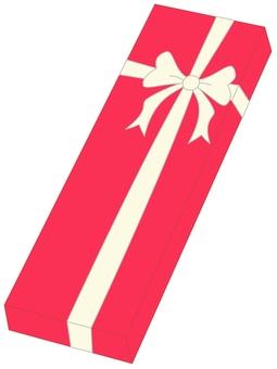 Present box red