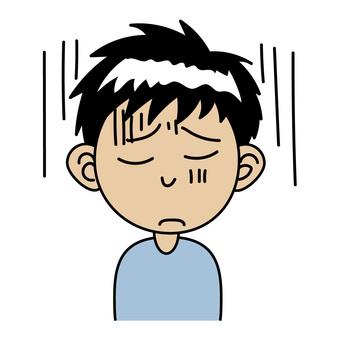 Boy_A Depressed expression