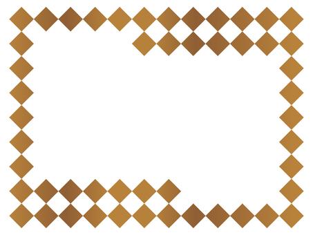 Simple frame 6 Brown