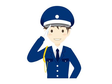 H001_ guard man