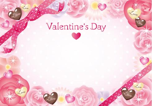 Valentine's card (heart chocolate)