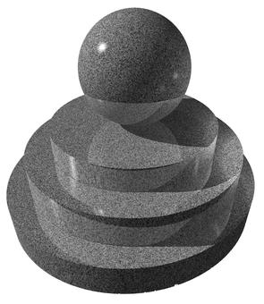 Stone object CG