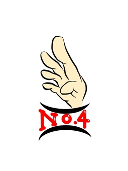 Ranking no.4 finger