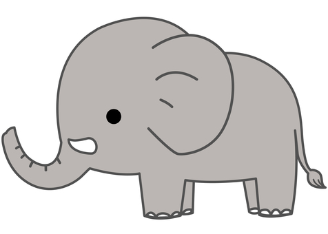 Animal Illustrations-Elephant