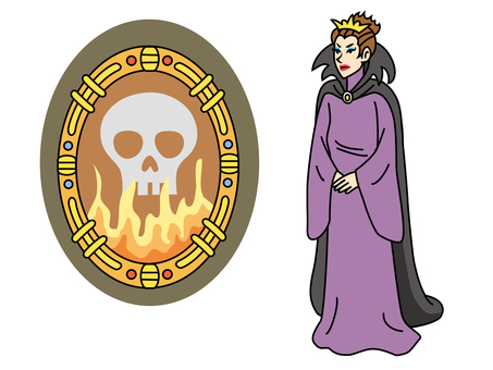 白雪姫2(魔法の鏡と邪悪な女王)