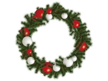 クリスマス リース01