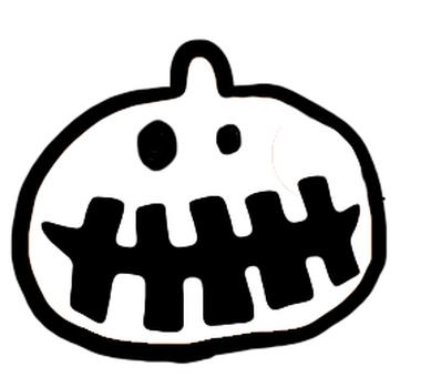 Pumpkin stupid cute face