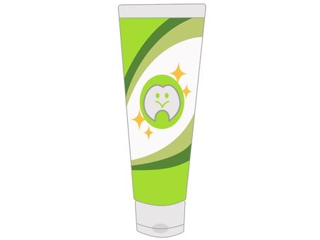 치약 녹색
