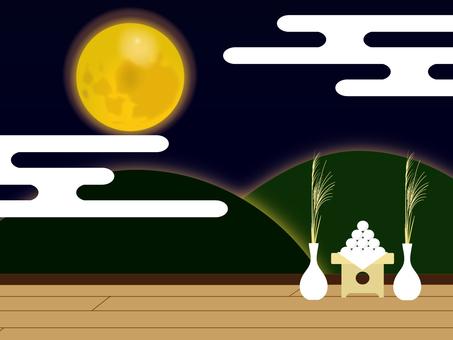 Moon view moon moon
