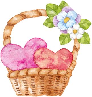 Heart basket No shadow