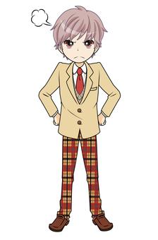 Angry boy student tea 2 (Punpun 07)