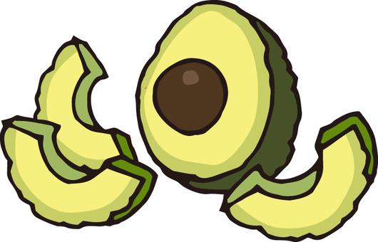 Fruit (avocado · section 2)