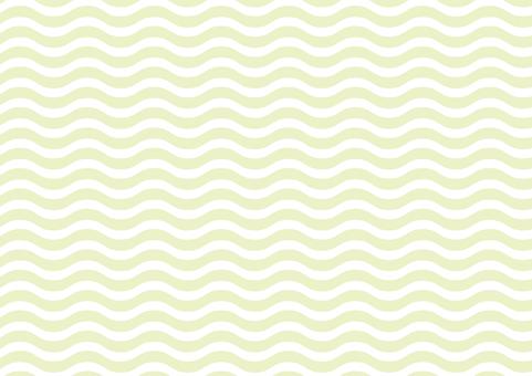 Wavy background (green)