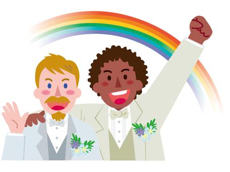 Marriage between men-Rainbow 6