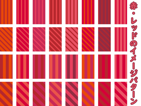 Red / red image pattern