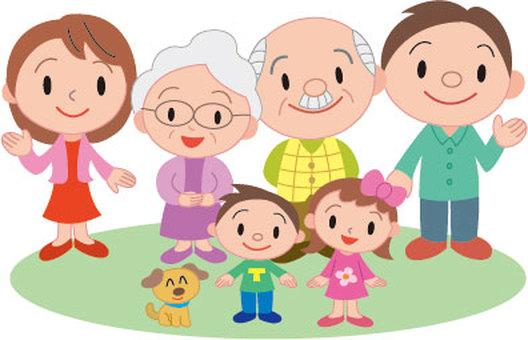두 세대 가족 2
