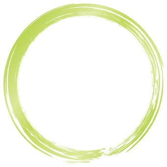 Brush brush f_ yellow green gradation_v 8