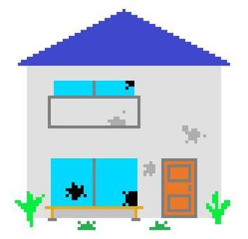 8 bit vacant house