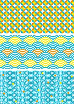 Background Pattern Japanese Pattern