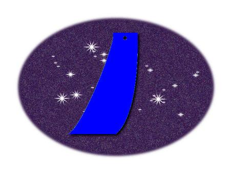 帶(藍色)
