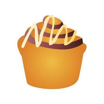 Petit cake · chocolate