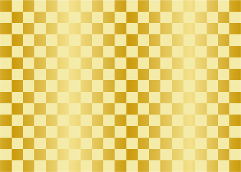 Checkered pattern (gold color)