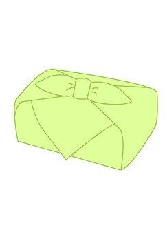 Furoshiki wrapping