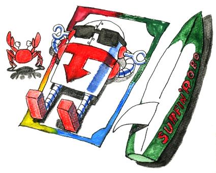 衝浪機器人1