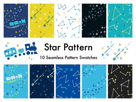星空のパターン1