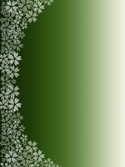 背景櫻桃樹垂直組成綠色