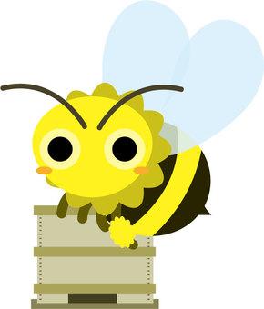 Bee and beekeeping box