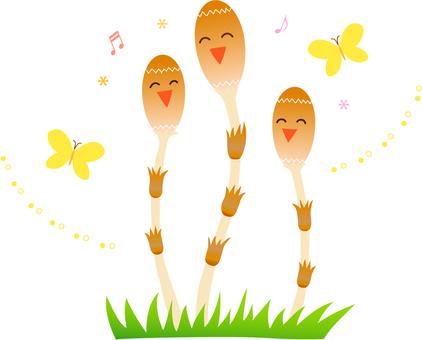 Singing Tsukushi