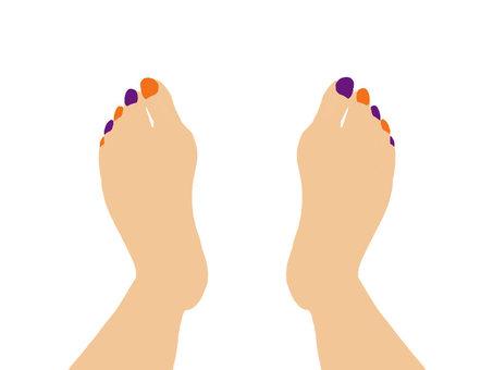 Foot nail 1