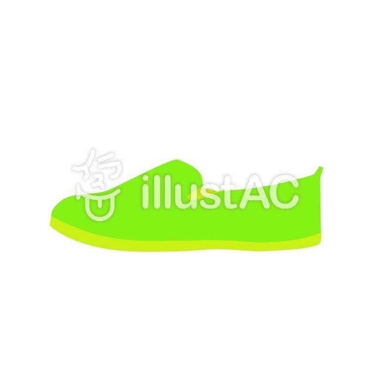 靴(きみどり)イラスト , No 215045/無料イラストなら