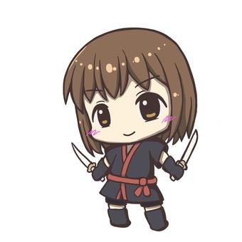 忍者の女の子