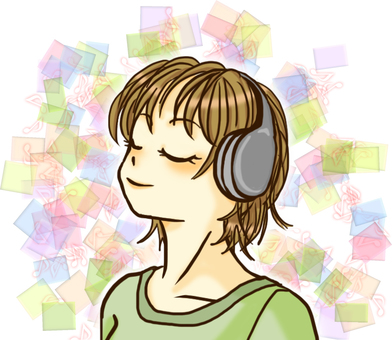 Listen to music (with effect)