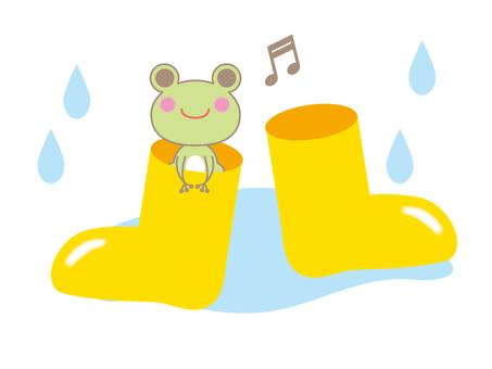 Rainy season boots
