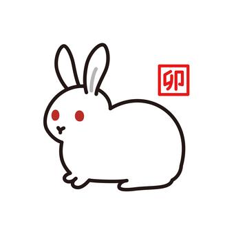조디악 토끼 토끼