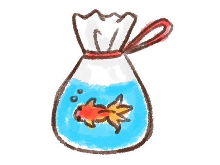 크레용 시리즈 [금붕어 잡기 / 가방]