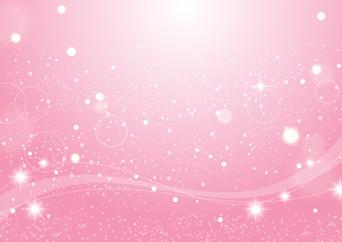 Glitter background material wave (pink)