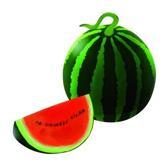 Watermelon, red