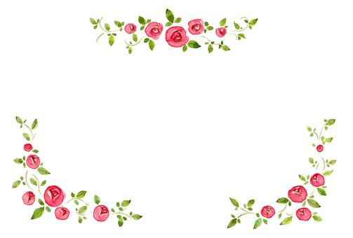薔薇ポストカード02